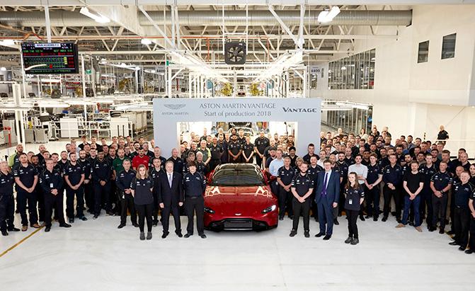 2019 Aston Martin Vantage Enters Production