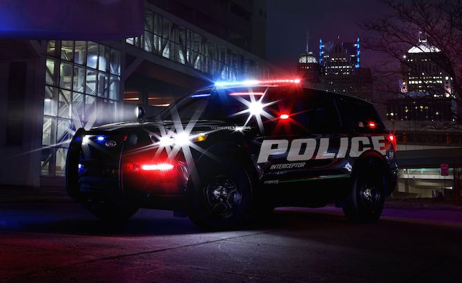 Ford's New Explorer Police SUV is a Hybrid