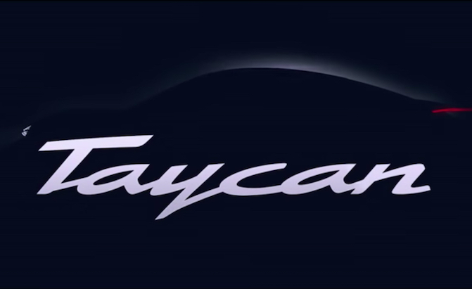 Electric Porsche Taycan Officially Previewed in New Video