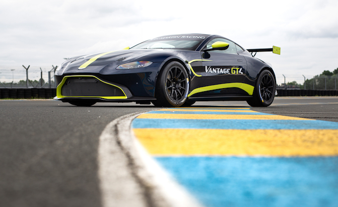 Aston Martin Unveils Mean New Vantage GT3 and Vantage GT4