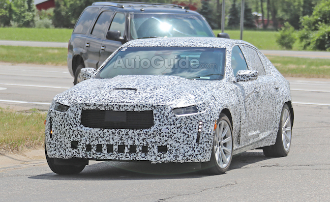 Cadillac CT5 Spied Looking Ready to Replace ATS and CTS