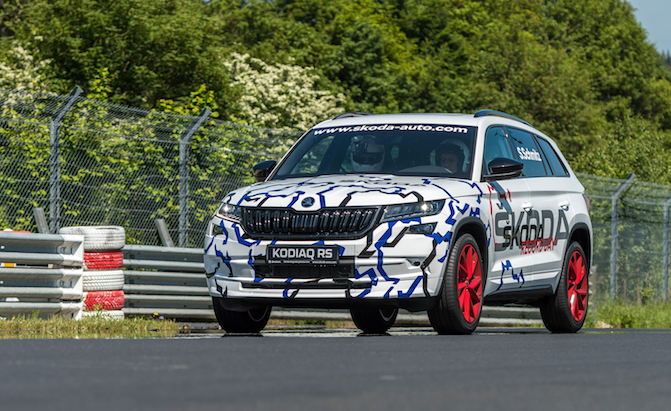 Sabine Schmitz Sets Nurburgring Record for Seven Seaters