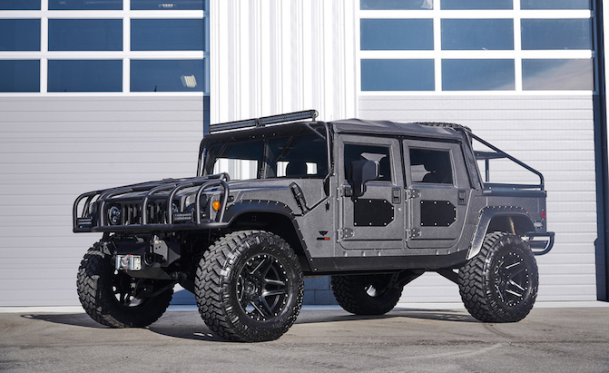 Mil-Spec Automotive is Creating a High-Buck Hummer H1