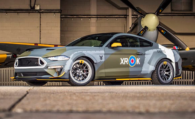 700 HP Eagle Squadron Mustang Takes Flight at Goodwood