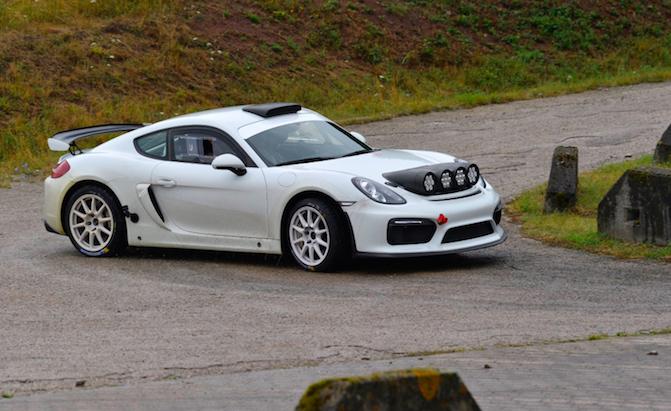 Porsche's New Cayman GT4 Rally Car Sounds Amazing