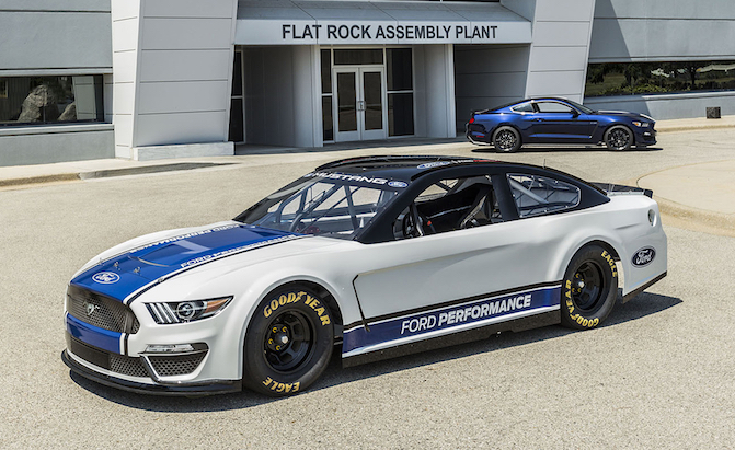 Say Hello to the NASCAR Mustang