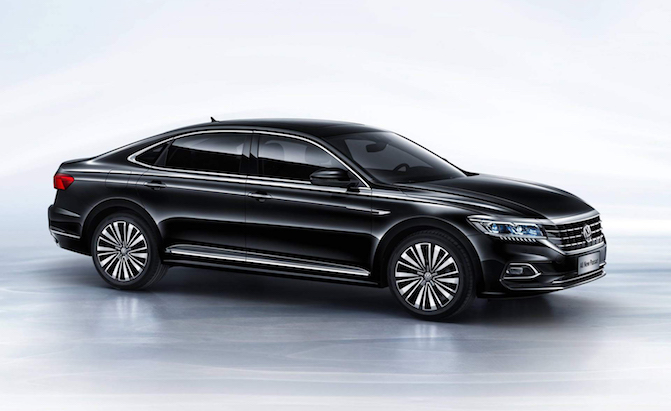 New VW Passat Revealed in China; Likely Previews American Passat
