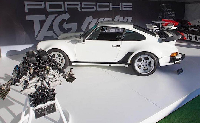 Lanzante Building 930 Porsche 911 With Turbo V6 F1 Engine