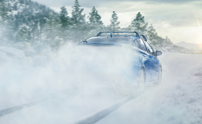 Toyota Teases AWD Prius
