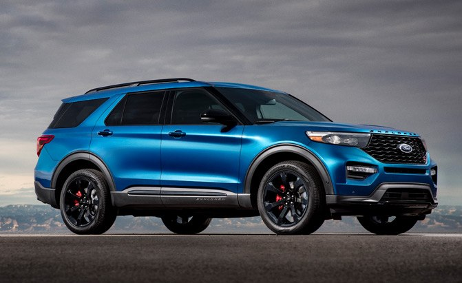 2020 Ford Explorer Gains High-Performance ST and Fuel-Sipping Hybrid Models
