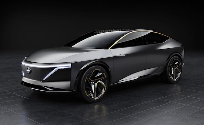 Nissan IMs Concept Previews a 483-HP AWD Electric Sedan