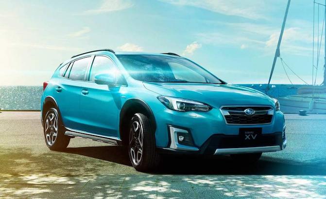 2019 Subaru Crosstrek Hybrid Lands in Japan