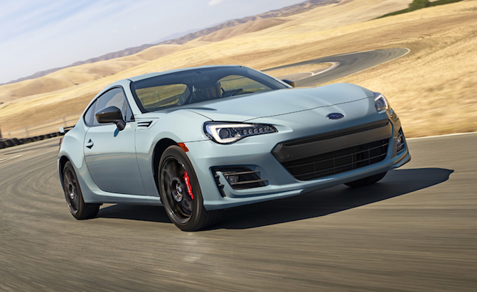 2019 Subaru BRZ Gains Series.Gray Special Edition